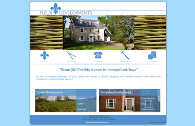 Fleur is a Norfolk based housing development business